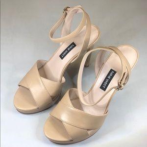 (p235) Nine West Platform Sandals Women's Shoes